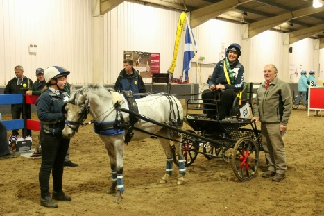 Reserve Supreme National Indoor Champion - Amanda, groom Stephie and super pony Phoenix Firefox