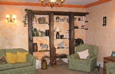 african themed sitting room